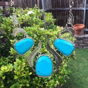 Kendra Scott Ignacia Necklace in Turquoise